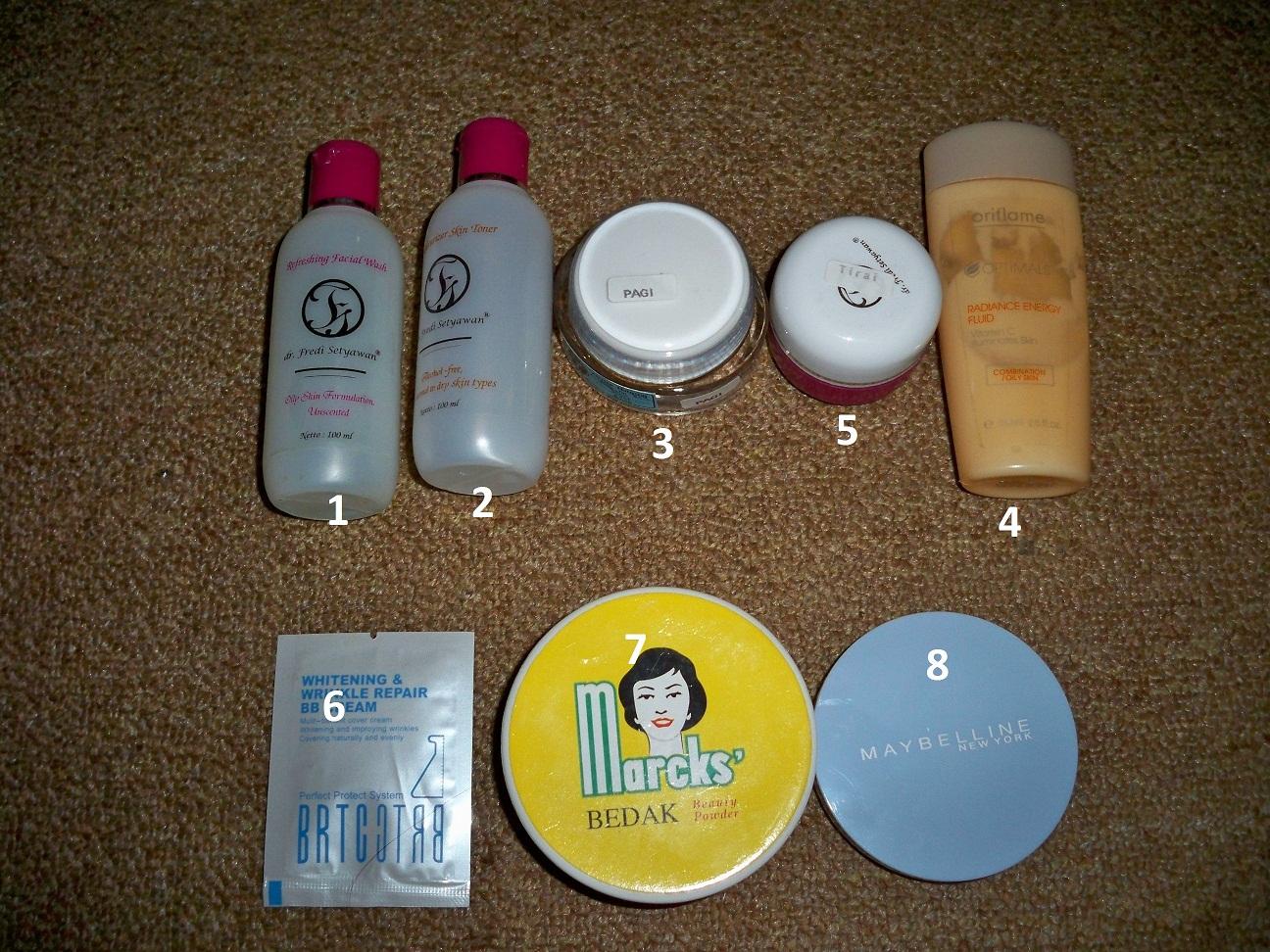Mustika Ratu Kamays Favourite Complete Whitening Series Face Stuffs